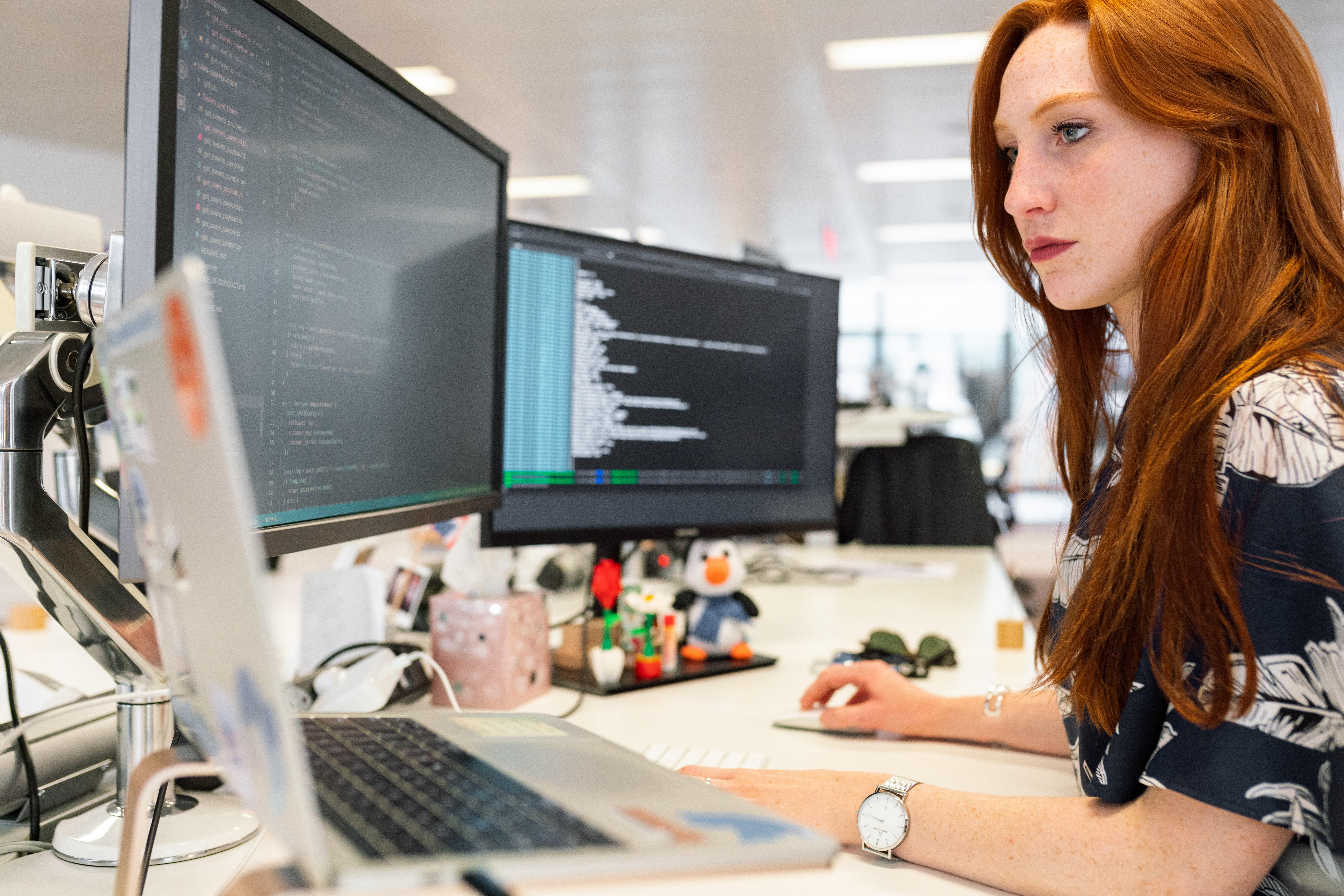 Female Indie Game Developer